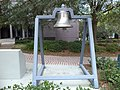 Bell (East face) at Tallahassee City Hall.JPG