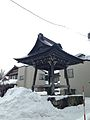 Bell tower of Seiganji Temple in Furukawa, Hida, Gifu in winter.jpg