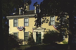 National Register of Historic Places listings in Suffolk County, Massachusetts - Image: Bellingham Cary House Chelsea MA