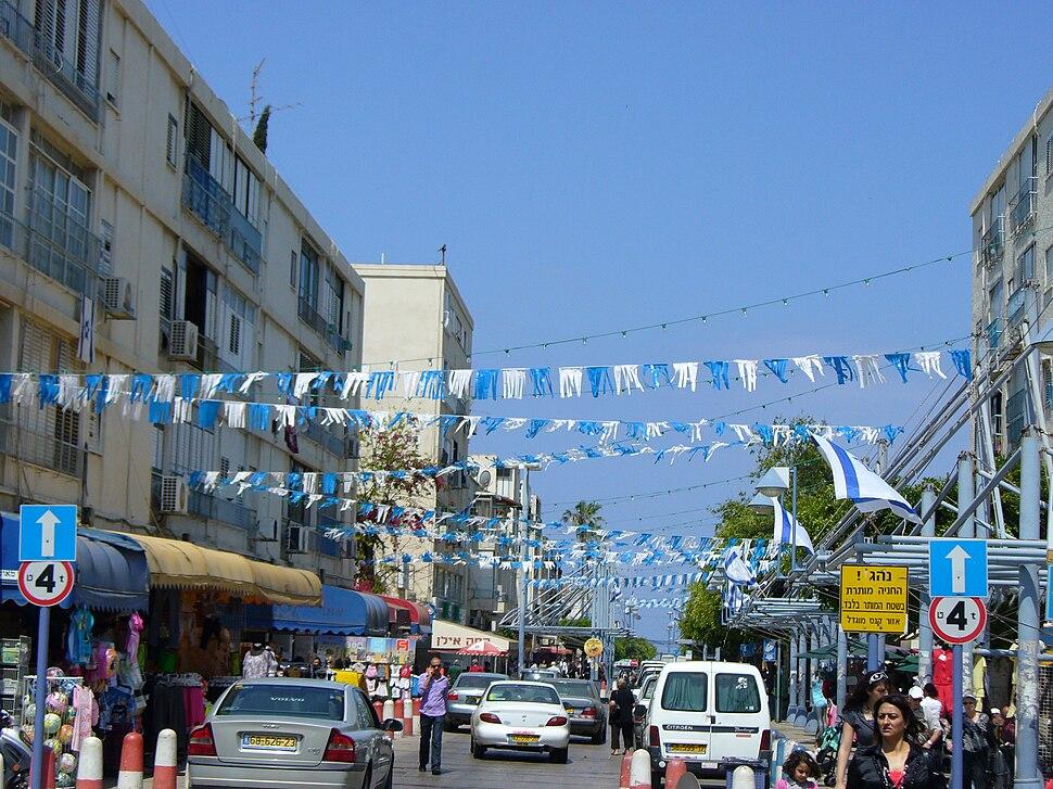 Ben Ami Pedestrian zone, Akko, Israel