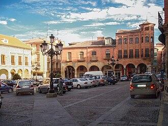 Benavente, Zamora - Plaza del Ayuntamiento in Benavente.