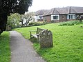 Bench in Rogate Churchyard - geograph.org.uk - 786518.jpg