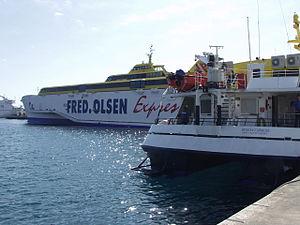 Fred. Olsen Express - Image: Benchijigua Express Benchi Express