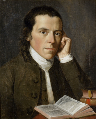 Benjamin Waterhouse - Portrait of Waterhouse by Gilbert Stuart, 1775
