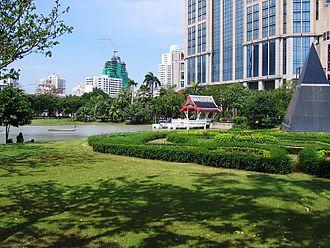 Khlong Toei District - Benjasiri Park
