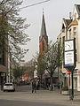 Benrath, die Sankt Cäciliakirche Dm1017 in straatzicht foto2 2014-03-30 16.49.jpg