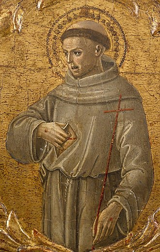 Benvenuto di Giovanni - St Francis of Assissi, c. 1475-1478
