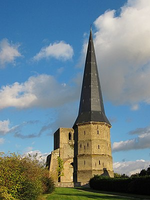 Nord (French department) - Image: Bergues tour pointue