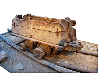 Wagonway - Cart from 16th century, found in Transylvania