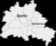 Berlin Warschauer Strasse Lage