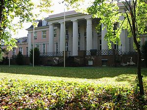German Music Archive - Former host building: The Siemens-Villa in Berlin-Lankwitz
