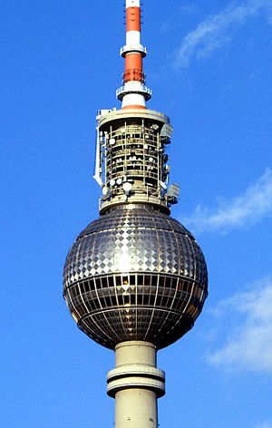 "Fernsehturm Berlin - The ""Pope's Revenge"""