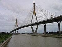 Bhumibol Bridge, June 2007.jpg