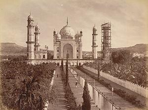 History of Aurangabad, Maharashtra - Bibi Ka Maqbara 1880s