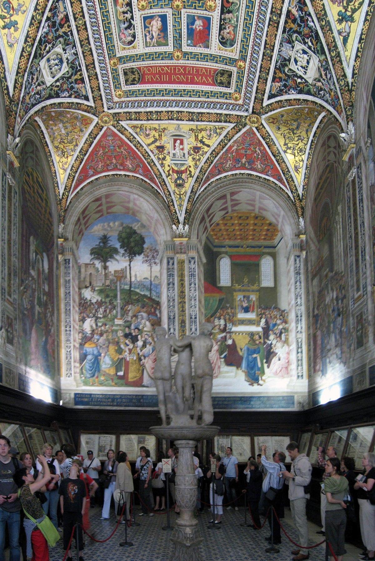 Biblioteca Piccolomini - Wikipedia, la enciclopedia libre