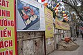 Bich Cau - Plans for re-construction on wall facing Cat Linh Street.JPG