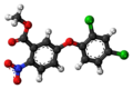 Bifenox molecule ball.png