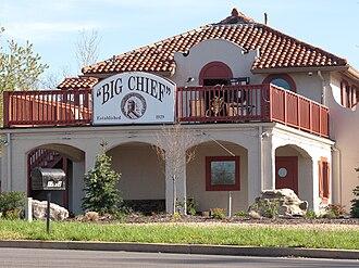 Wildwood, Missouri - Image: Big Chief Restaurant