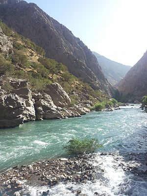 Diyala River - Junction of the Bil And Sirwan Riv