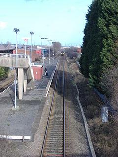 Billingham railway station Railway station in County Durham, England