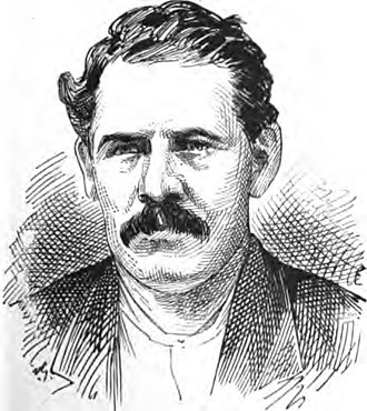 """Billy Porter (criminal) - An illustration of Billy Porter from """"Recollections of a New York Chief of Police"""" (1887)"""