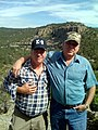 Billy Davis and Actor Val Kilmer on Val's Ranch in New Mexico.jpg