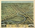 Bird's eye view of Warren, Trumbull County, Ohio 1870. LOC 73694519.jpg