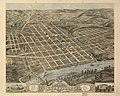 Bird's eye view of the city of Knoxville, Knox County, Tennessee 1871. LOC 73694529.jpg