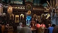 Bishop Meletius in St. Nicholas sobor in Chernivci.jpg
