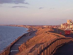 Bispham, Blackpool - Image: Bispham Seafront with Norbreck Castle in Distance geograph.org.uk 33113
