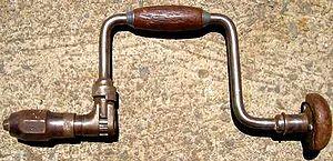 Brace (tool) - A brace