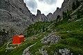 Bivacco Donato Zeni 2100 m.a.s.l. Vallaccia - Pozza di Fassa (TN), Trentino Alto Adige, Italy - 2019-08-22.jpg