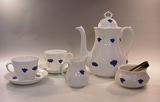 Gustavsberg porcelain - Image: Bla Blom 1
