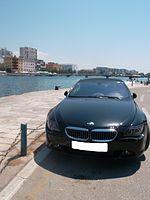 Black BMW Cabrio M6 (E64) Croatia (Front).JPG