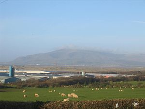 Black Combe - Black Combe viewed over the Duddon Estuary from Barrow-in-Furness