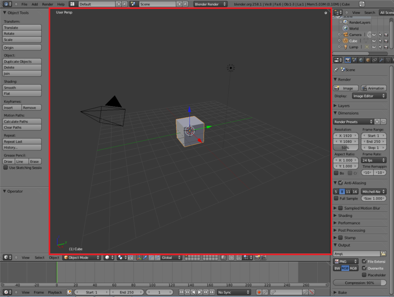 Blender-2.57 viewport outline.png
