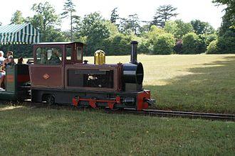 Blenheim Park Railway - Image: Blenheim Park Ry Diesel 2013 07