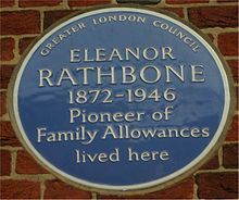 Blue plaque Eleanor Rathbone.jpg