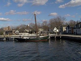 Regina M. - Regina M. at dock.