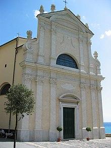 La chiesa parrocchiale della Natività di Maria Santissima nel capoluogo