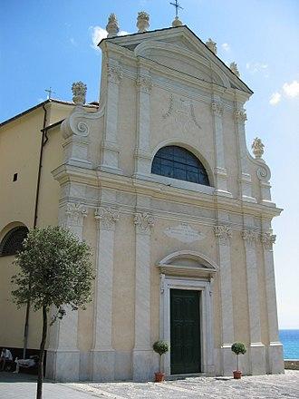 Bogliasco - Church of Natività di Maria Santissima.