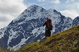 Chugach Mountains - Image: Bold Peak