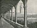 Bologna cimitero della Certosa chiostro della cappella xilografia.jpg