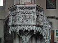 Bolzano, Cattedrale di Santa Maria Assunta pulpit 002.JPG