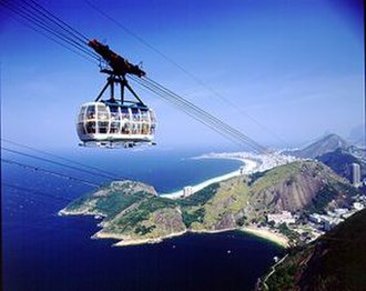 Sugarloaf Cable Car - The modern cablecar (2006)