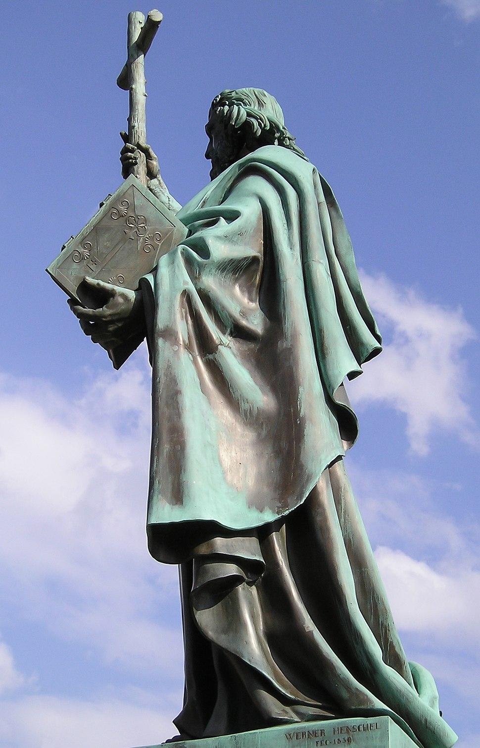 Bonifatiusstatue Fulda