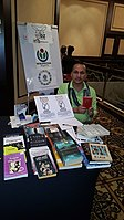 BookSwapping at Wikimania 2018 20180722 151806 (25).jpg