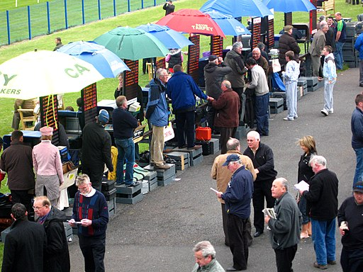 Bookies at Sligo races, Ireland (2547047006)