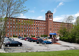 Fall River, Massachusetts - Border City Mill