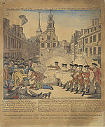 Massacre de Boston, 1770